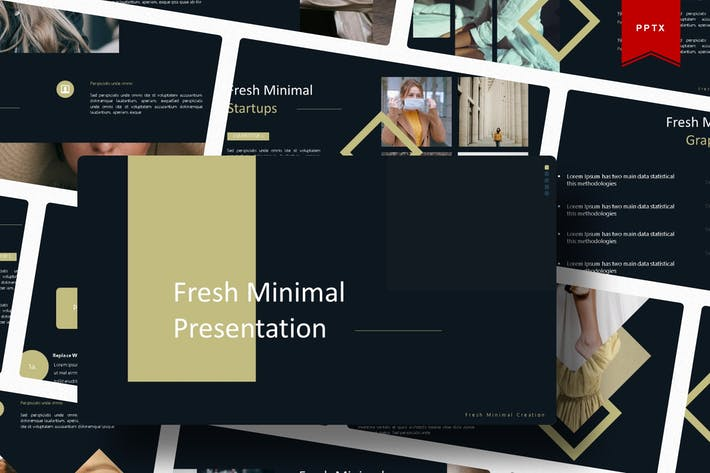 Thumbnail for Fresh Minimal | Powerpoint Template