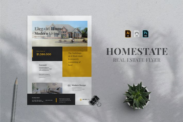 Thumbnail for Real Estate Flyer 11