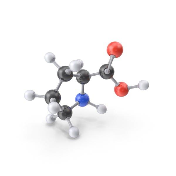 Пролин Молекула