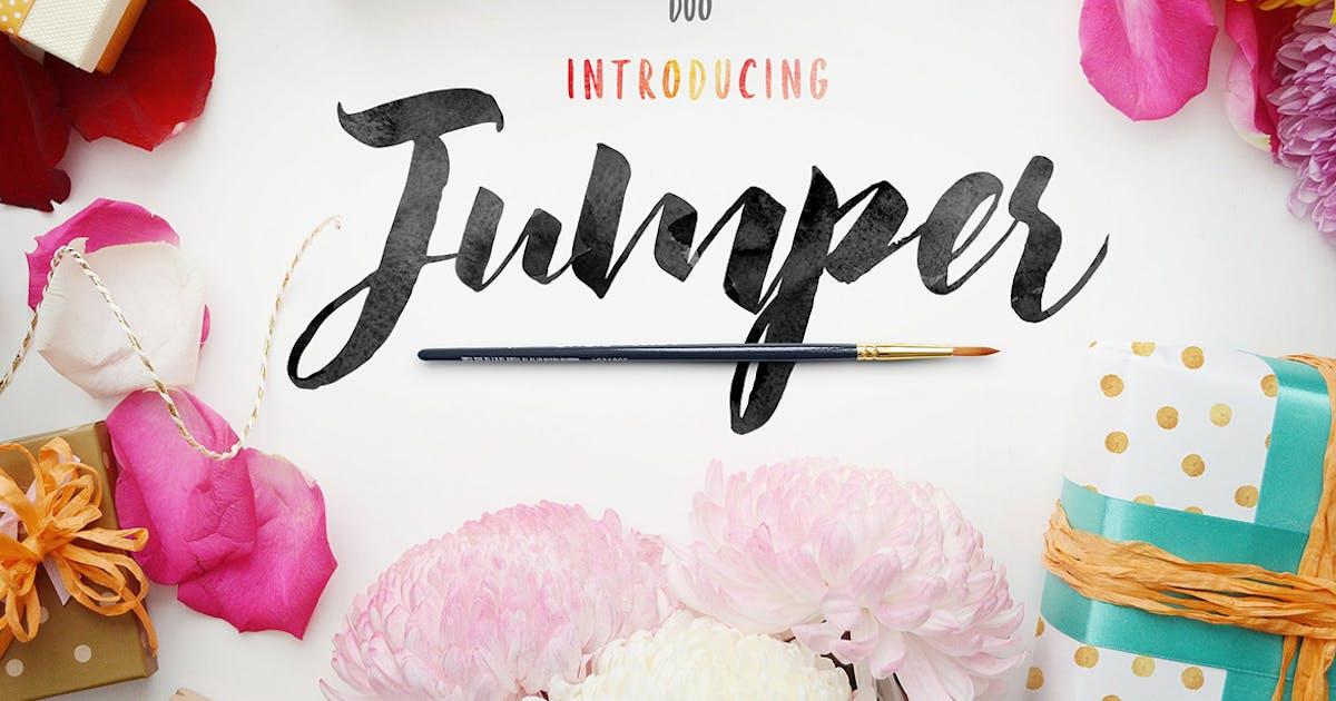 Download Jumper Script Fonts by Kavoon