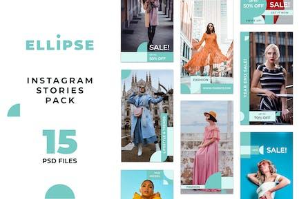 Elipse Instagram Stories