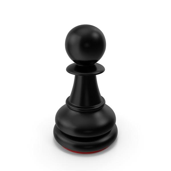 Pawn Black Red