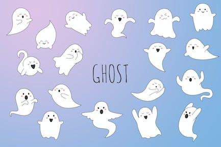 Ghost, handgezeichnet