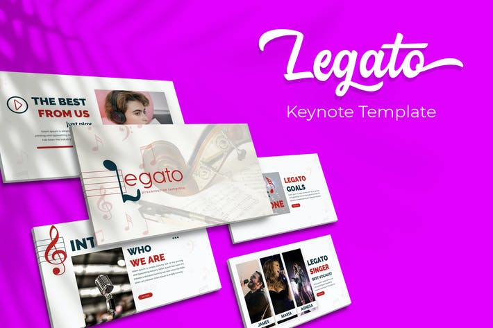 Thumbnail for Legato - Keynote Template