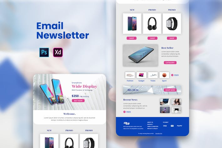 Cover Image For Gadget Email Newsletter