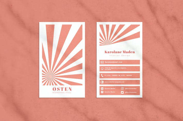 Thumbnail for Osten Business Card