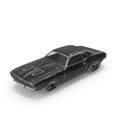 Fliegendes Auto Schwarz