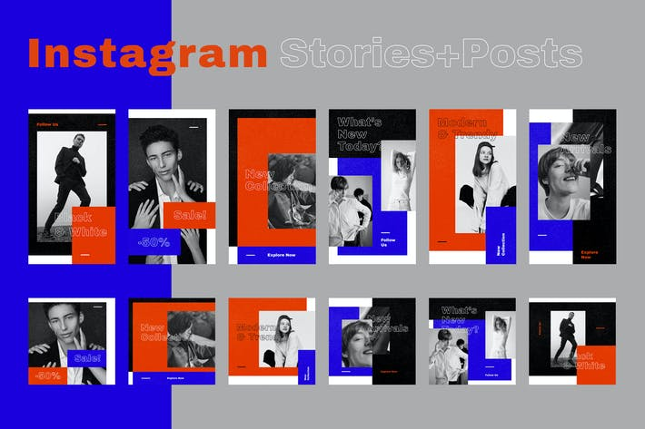 Thumbnail for Instagram Posts + Stories (Vol.13)