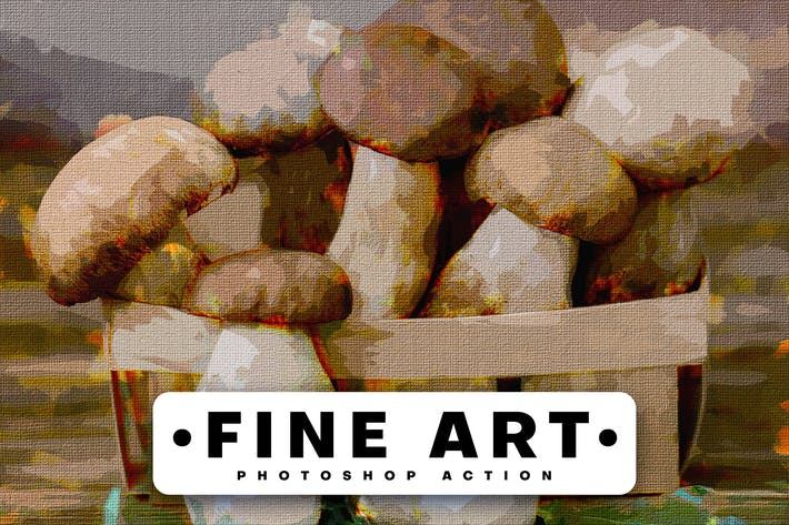 Thumbnail for Fine Art Photoshop Action