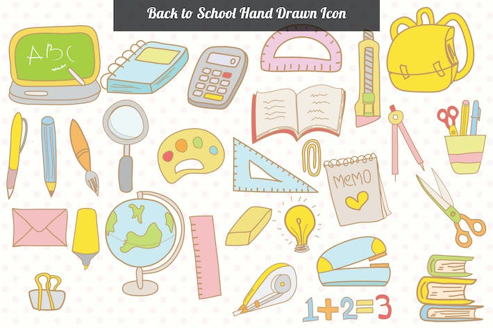 Thumbnail for Back to School Hand Drawn