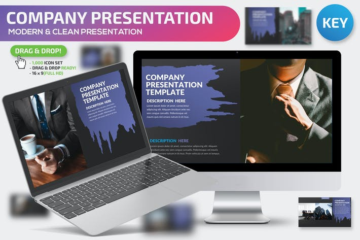 Thumbnail for Company Keynote Presentation