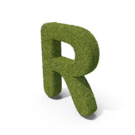 Grass Großbuchstabe R