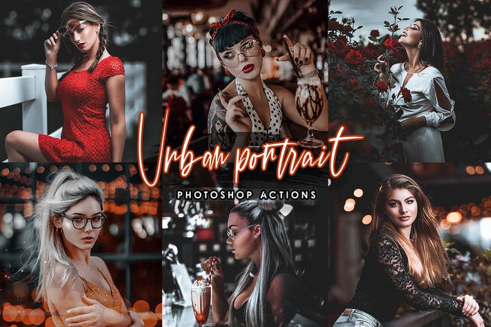 Thumbnail for Urbun- Portrait Actions Photoshop