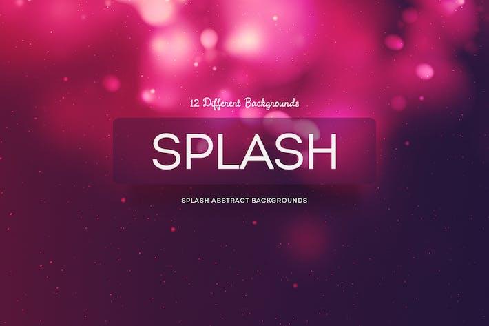 Splash Abstrakte Hintergründe