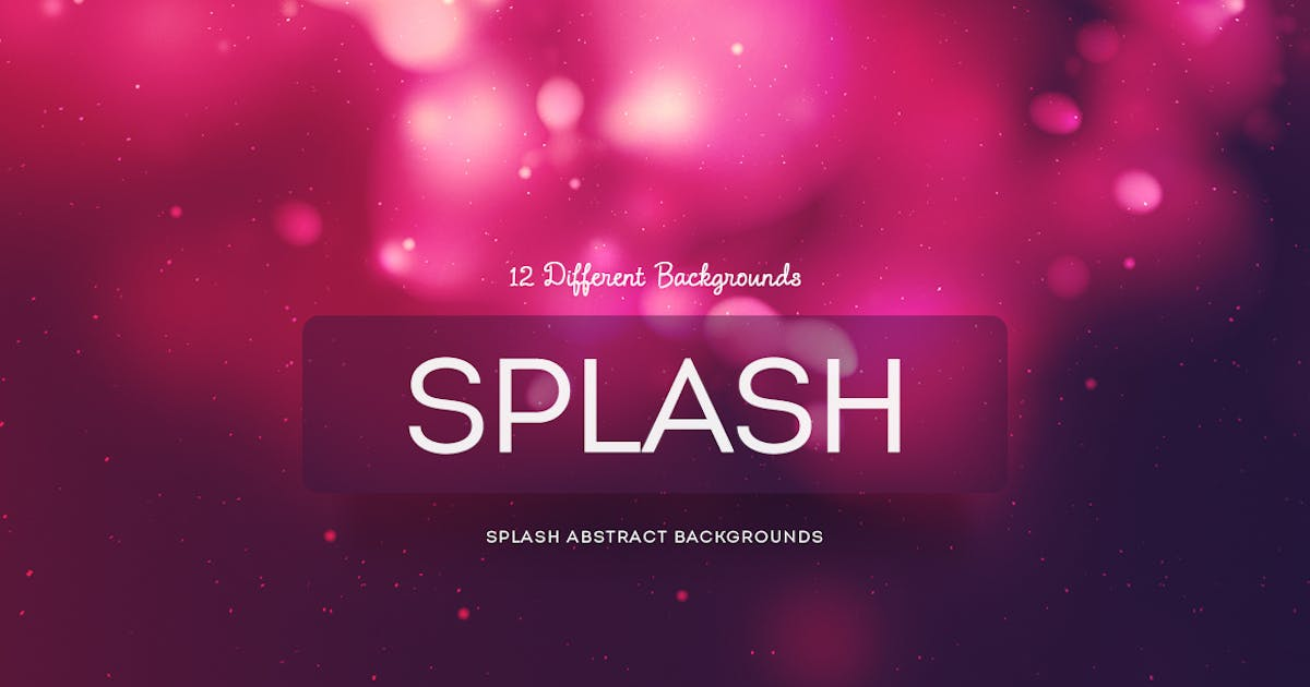Download Splash Abstract Backgrounds by mamounalbibi