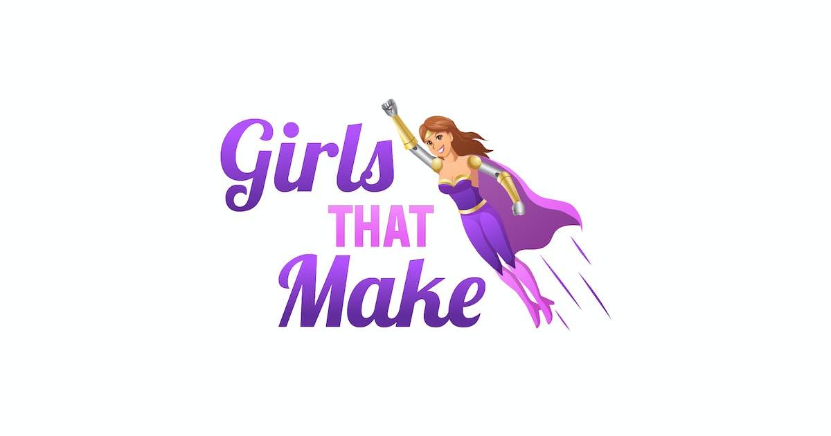 Download Girls That make Logo by PremiumLayers