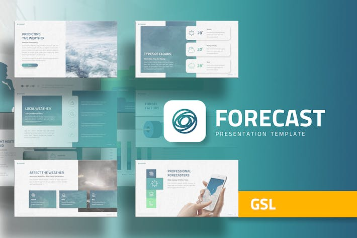 Thumbnail for Forecast - Education Google Slides Template