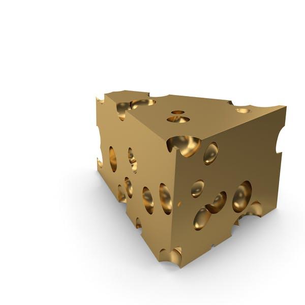 Cheese Piece Golden