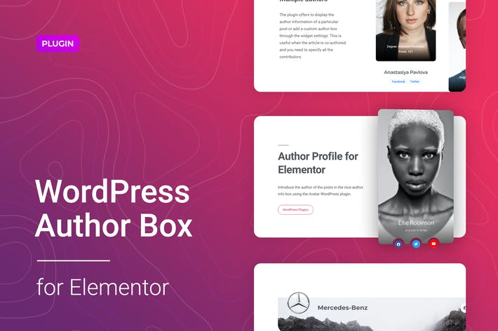 Thumbnail for WordPress Author Box for Elementor