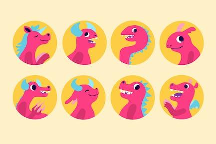 Bubble Monsters Badges
