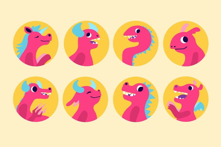 Thumbnail for Bubble Monsters Badges