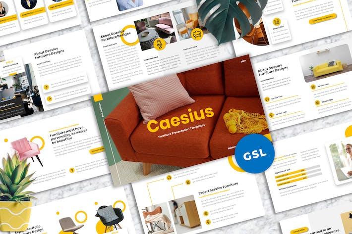Thumbnail for Caesius  - Furniture Googleslide Templates