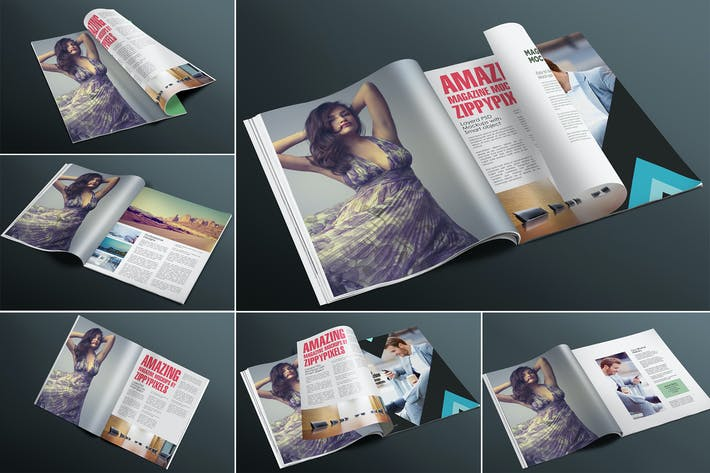 Thumbnail for Appealing Magazine Mockups