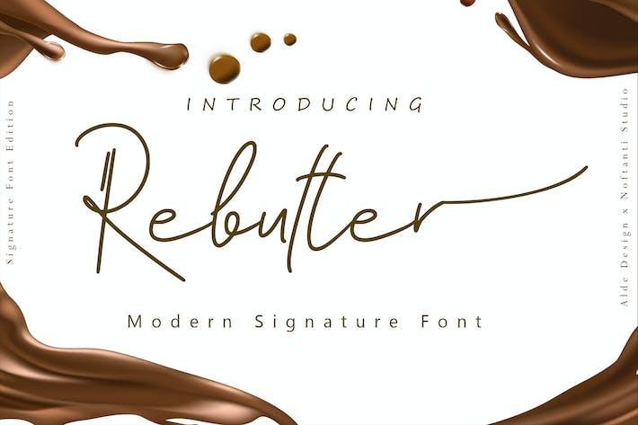 Rembutter//Fuente manuscrita de moda