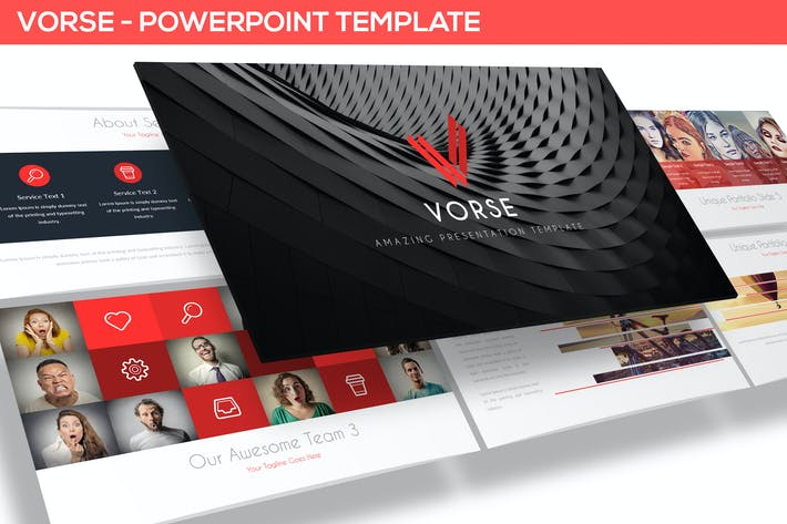 Thumbnail for Vorse - Powerpoint Template