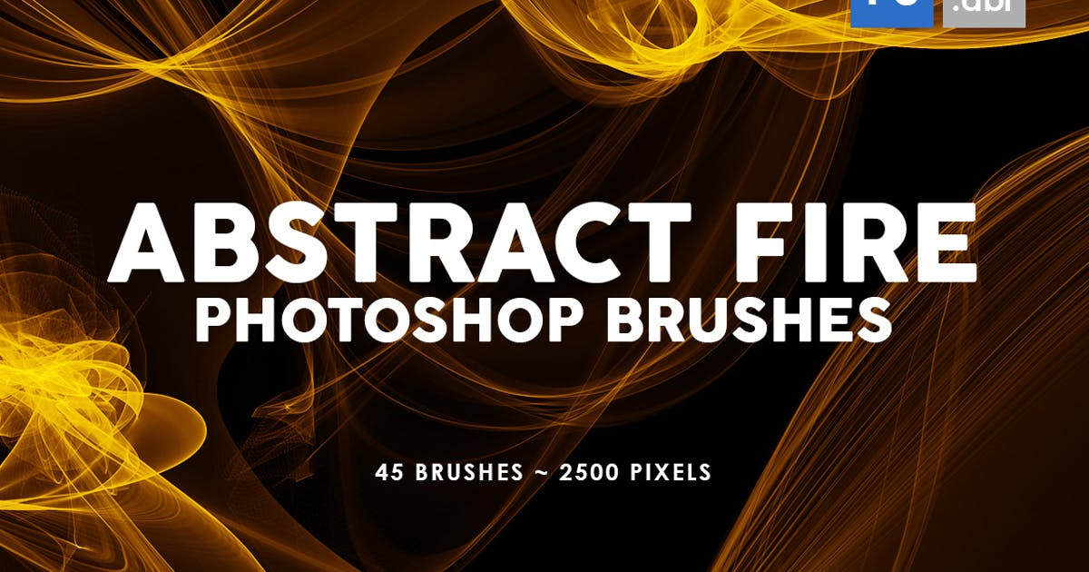 Download 45 Abstract Fire Photoshop Stamp Brushes by M-e-f