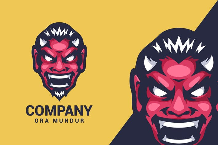 Thumbnail for Devil Logo Mascot