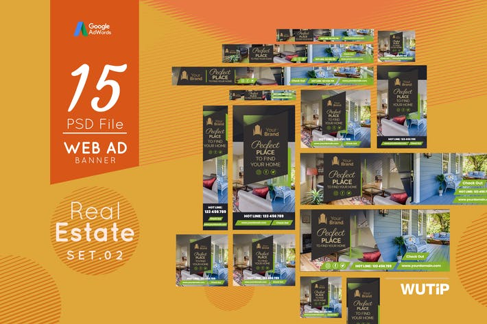 Thumbnail for Web Ad Banners - Real Estate 02
