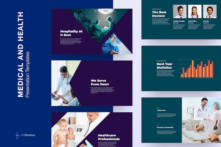 Axim - Medical and Health Presentation Templates