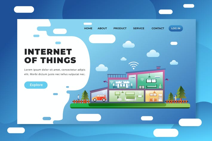 Thumbnail for Internet of Things - PSD and AI Landing Page