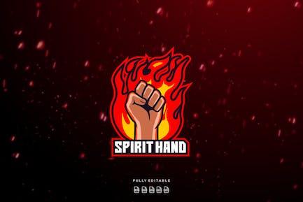 Hand Spirit Esport Logo