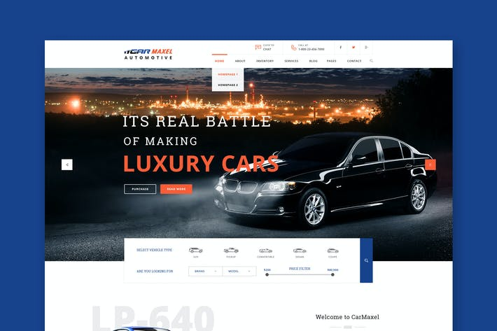 Thumbnail for Car Max - Automotive HTML Template