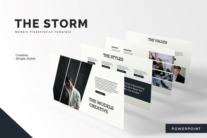 Thumbnail for The Storm  - Powerpoint Template