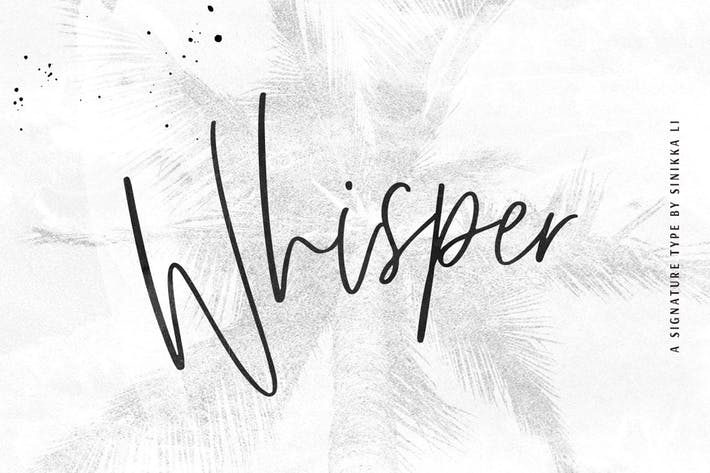Thumbnail for Whisper | Signature Script