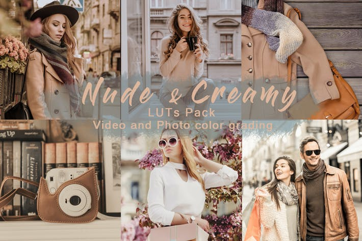 Thumbnail for Nude & Creamy | LUTs Pack