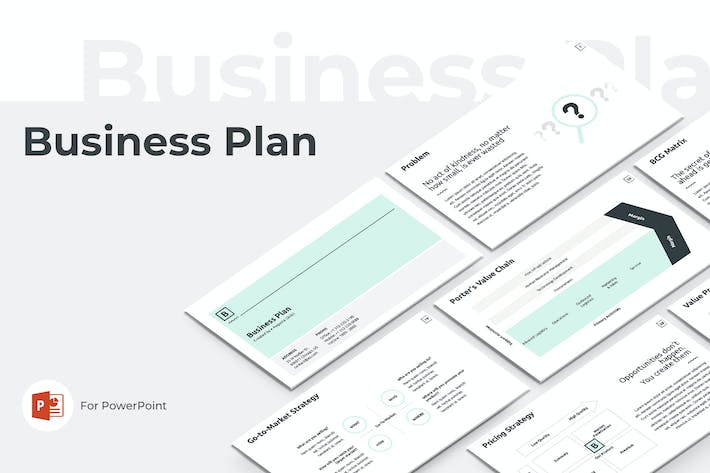 Thumbnail for Business Plan PowerPoint Presentation Template