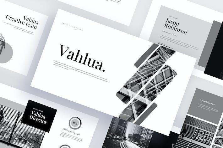 Thumbnail for Vahlua - Business Google Slides Template