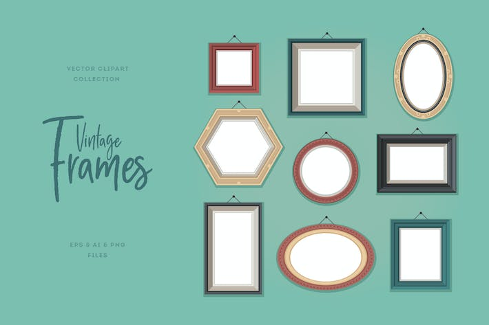 Thumbnail for Vintage Frames Collection