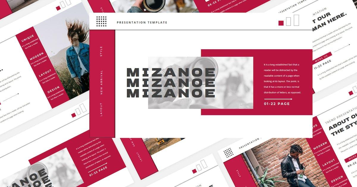 Download MIZANOE Keynote Template by axelartstudio