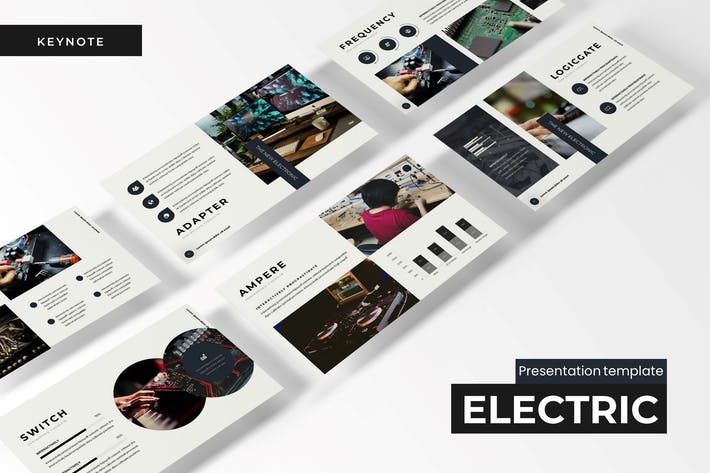 Thumbnail for The Electric - Keynote Template