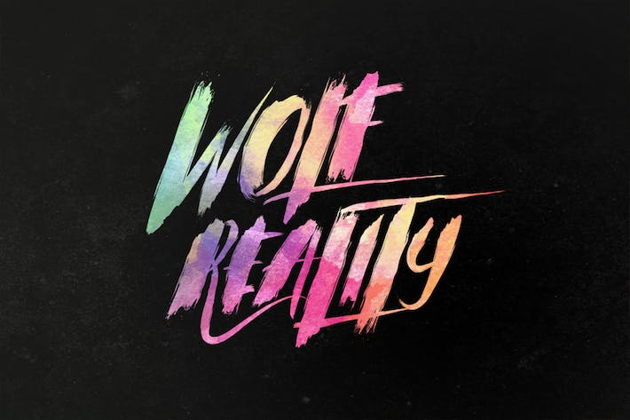 Thumbnail for Wolf Reality Typeface
