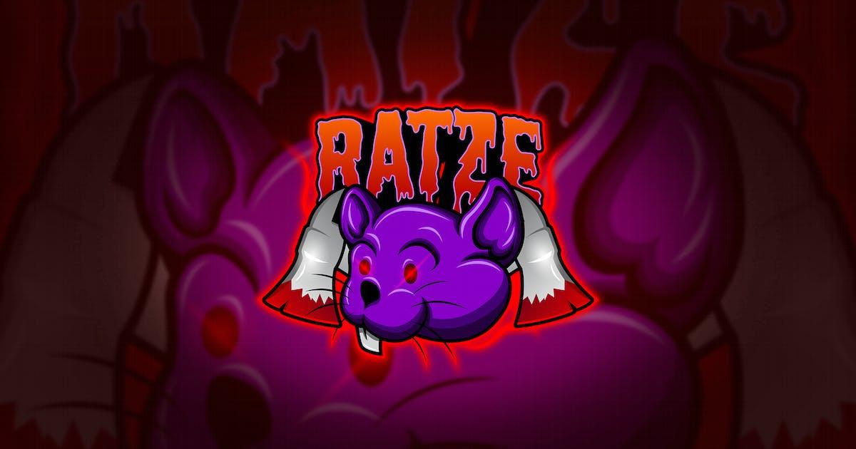 Download Rats - Mascot & Esport Logo by aqrstudio