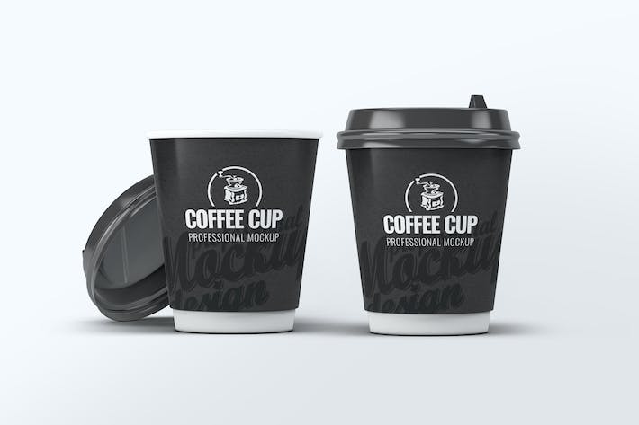 Cover Image For Coffee Cup Mock-Up V.2