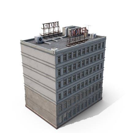 Hotelgebäude im New Yorker Stil
