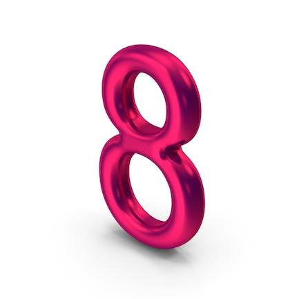 Número 8 Metálico