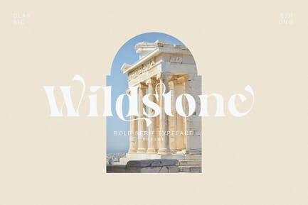 Wildstone - Ligature Serif Typeface